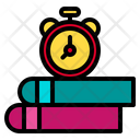 Time Books School Icon