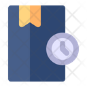 Study Time Schedule Bookmark Icon