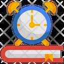 Clock Study Book Icon