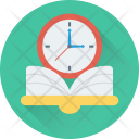Study Time Schedule Icon