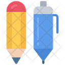 Pen And Pencil Equipment Supplies Icon