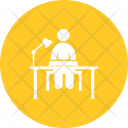 Studying Desk Study Icon
