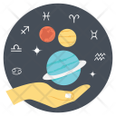 Studying astrology Icon