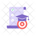 Marketing Target Research Icon