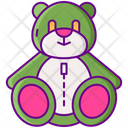Stuffed Animals Bear Soft Icon