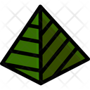 Stuffed Dough Pyramid Icon