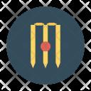 Stumps Wicket Cricket Icon