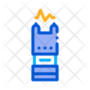 Defense Electric Police Icon