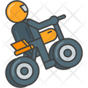 Mstunt Stunt Bike Stunt Icon