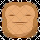 Hihi Monkey Emoji Icon