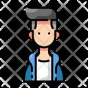 Stylish Boy Icon