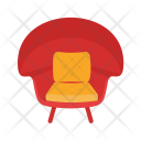Stylish Chair Icon