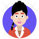 Female Avatar Girl Icon