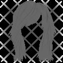 Stylish Haircut Sample Icon