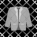 Stylish jacket Icon
