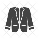 Stylish Jacket Man Icon