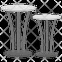Stylish Table Icon