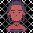 Woman Skinhead Occupation Icon