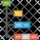 Increment Add Sub Coding Icon