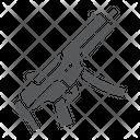 Submachine Gun Army Icon