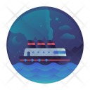 Travel Sea Submarine Icon