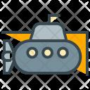 Submarine Underwater Icon