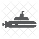 Submarine Ocean Navy Icon