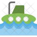 Submarine Defense Vessel Icon