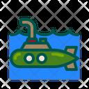 Submarine Marine Underwater Icon