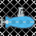 Submarine Under Water Vehicle Vehicle Icon