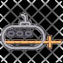 Submarine Boat Ship Icon