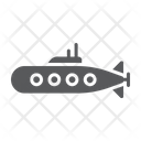 Military Submarine Marine Icon