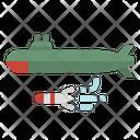 Submarine Sea Boat Icon