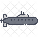 Submarine Military Marine Icon