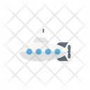 Submarine Toys Underwater Icon