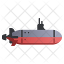 Submarine Sea Ocean Icon
