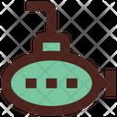 Submarine Underwater Boat Icon