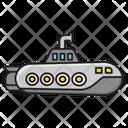 Submarine Ship Transport Icon