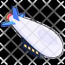 Undersea Transport Submarine Torpedo Icon