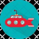 Submarine Transport Sea Icon