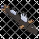 Submarine Torpedo Icon