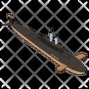 Submarine Watercraft Icon