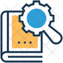 Submission Book Magnifier Icon