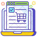 Submit Order Webshop Shopping Website Icon