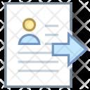 Resume Submit Icon