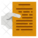 Submitted Document Data Icon