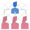 Subordination Teamwork Team Icon