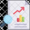 Internet Marketing Analysis Data Chart Icon