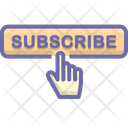 Subscribe  button Icon