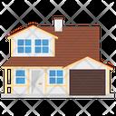 Suburban Home Icon